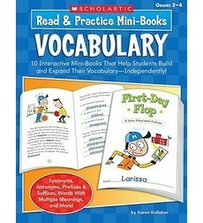 Read & Practice Mini–Books: Vocabulary
