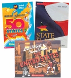 Scholastic Trio Individual Theme Unit Set 4, Social Studies - The 50 States, Grades 4-5