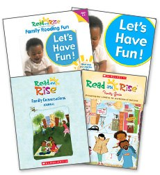 Read and Rise Family Conversations Kit English 0-2 9780545273800