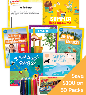Summer Grade K Nonfiction Classroom Set