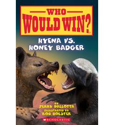 Who Would Win Hyena Vs Honey Badger By Jerry Pallotta