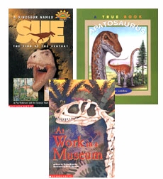 Scholastic Trio Individual Theme Unit Set 3, Science - Dinosaurs, Grades 3-4
