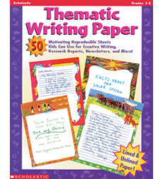 thematic writing paper Download and read thematic writing paper grades 3 5 thematic writing paper grades 3 5 change your habit to hang or waste the time to only chat with your friends.