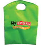 My Books Summer Junior Tote Bag - Lime