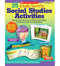 25 Totally Terrific Social Studies Activities