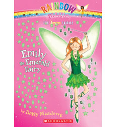 Rainbow Magic-The Jewel Fairies: Emily the Emerald Fairy
