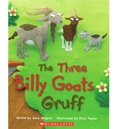 The Three Billy Goats Gruff 9780545165402