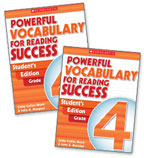 Powerful Vocabulary for Reading Success: 10 Student Workbooks + TE Grade 4