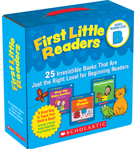 First Little Readers Parent Pack: Guided Reading Level B 9780545231503
