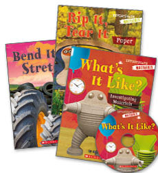 Investigators Whole Class Pack - Materials Grade K