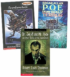 Scholastic Trio Individual Theme Unit Set 6, Language Arts - Thrillers, Grades 6-7