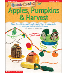 Quick Crafts: Apples, Pumpkins & Harvest