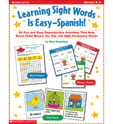 Learning Sight Words is Easy-Spanish!
