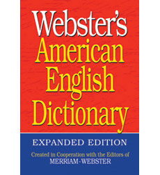 Webster's American English Dictionary Classroom Set