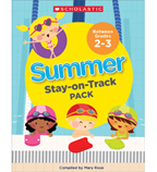 Summer Stay-on-Track Pack Between Grades 2 and 3