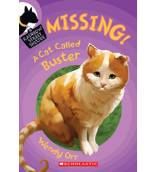 Missing A Cat Called Buster By Wendy Orr border=