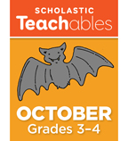 October Grades 3-4 Printable Packet
