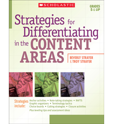 Strategies for Differentiating in the Content Areas 9780545194006