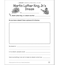Martin Luther King, Jr's Dream: Draw and Write Prompt