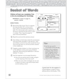 Bucket of Words: Graphic Organizer Graphic Organizer