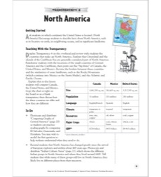 World (Reading a Political Map): Map Skills - Grades 4-8