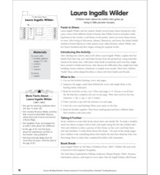 Literacy-Building Booklet: Laura Ingalls Wilder