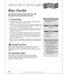 Division: Exploring Patterns (Star Cards)