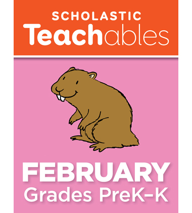 February PreK-K Printable Packet