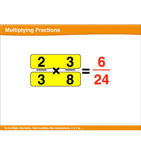 Multiplying Fractions: Math Lesson