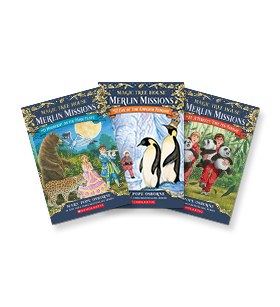 Magic Tree House Merlin Missions #11-26  Grades 2-4