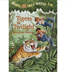 Magic Tree House: #19 Tigers at Twilight