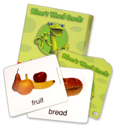 Building Language for Literacy - Nina's Word Cards