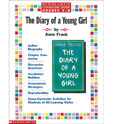 product literature guide anne frank the diary of a young girl. Black Bedroom Furniture Sets. Home Design Ideas