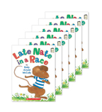 Guided Reading Set: Level F – Late Nate in a Race