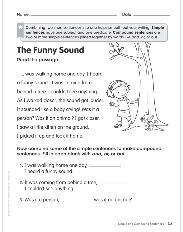 Second Grade: Writing Sample 2