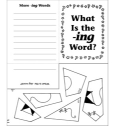 Word Families -ing Mini-Book Riddle Poems