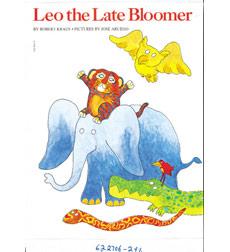 Leo the late bloomer board book