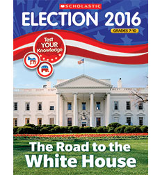 Election Skills Book: Road to the White House for Grades 7-10