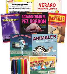 My Books Summer Spanish Grade 4 Nonfiction Pack