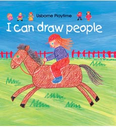 Usborne Playtime: I Can Draw People