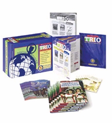 Scholastic Trio Content-Area Unit Set 4, Social Studies Grades 4-5