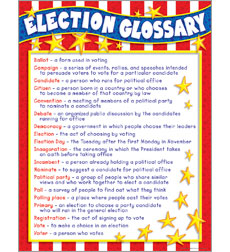 Election Glossary Chart
