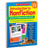 Introduction to Nonfiction Write-on/ Wipe-off Flip Chart