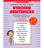 Overhead Writing Lessons: Strong Sentences