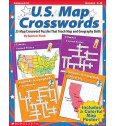 U S Map Crosswords by Spencer Finch