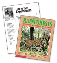 Life in the Rainforests – Literacy Express Pack