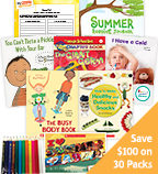 Summer Grade 2 Health & Wellness Classroom Set