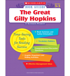 Scholastic book guides the great gilly hopkins by scholastic book guides the great gilly hopkins fandeluxe Images