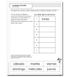 semana de Cookie, La - Activity Sheet
