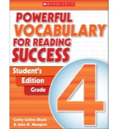 Powerful Vocabulary for Reading Success: Student Workbook Grade 4